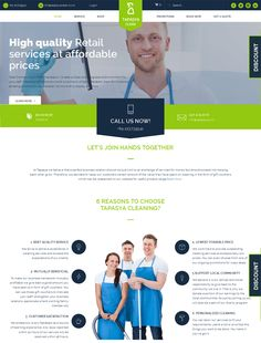 Ecommerce site for a cleaning company Website Design and Development By Vantage Webtech