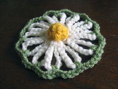 Crochet Pattern: Vintage Daisy Motif http://speckless.wordpress.com/2011/03/26/crochet-pattern-vintage-daisy-motif/