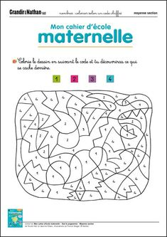 Montessori, Maternelle Grande Section, Printable Christmas Coloring Pages, Pop Toys, Kids Pages, Learn French, Kids Education, Toddler Activities, Baby Love