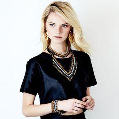 SOLLIS jewellery AZTEC necklace, TEPE choker and MEXICA earrings. http://WWW.SOLLISJEWELLERY.COM