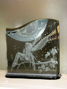 HIDEYUKI KUBONOKI | Glass Sandblasting Artist | Gallery