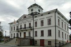 The City Hall Kristiinankaupunki, Ostrobothnia province of Western Finland. - Pohjanmaa.