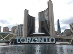 Toronto, Canada - Nathan Phillips Square - City Hall (by J&B)