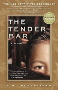 The Tender Bar : A Memoir by J. R. Moehringer  When I was recommending Tell the Wolves I'm Home, I spotted this book on the staff recommends shelf and suggested she read this wonderful coming of age story too