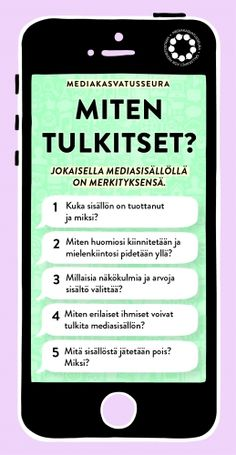miten-tulkitset-mediakasvatusseura-web Finnish Language, Google Classroom, Kids Learning, Presentation, Teacher, Student, Writing, How To Plan, Education