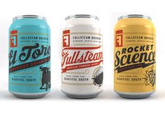 40 of the Best Beer Can Designs including #Fullsteam