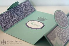 Stampin' UP! Queen for a Day Delicate Doilies Artistic Etchings In Colors by First Hand Emotion