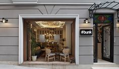 #bunk Istanbul with furniture by Autoban for De La Espada