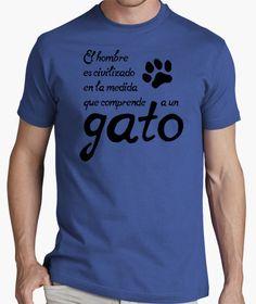 Camiseta Comprender a un gato