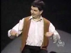 Invisible drum kit by Rowan Atkinson [VIDEO] ~ BestOfVids.net