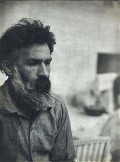 Constantin Brâncusi, Romanian Self-Portrait, gelatin silver print, (unframed) (may be subject to Droit de Suite) Constantin Brancusi, Portrait Photography Tips, Gelatin Silver Print, Paul Gauguin, Film Quotes, Modern Sculpture, Male Face, Figure Drawing, Impressionist