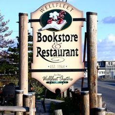 Bookstore & Restaurant-breakfast, lunch and dinner. Waterfront dining, raw bar, freshest seafood and more! Open Feb-Dec, Wellfleet, Cape Cod.