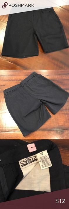 School uniform Navy above the knee school uniform shorts, never worn. Brand new size 16, with adjustable waist. 60% cotton & 40% polyester Bottoms Shorts