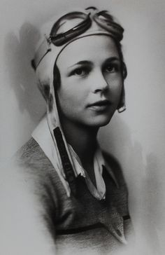 c.1928 - Betty Gillies, first pilot to qualify for the Women's Auxiliary Ferrying Squadron, entered the WAFS on September 12, 1942.