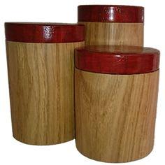 Toczenie w drewnie Dębowe pudełka