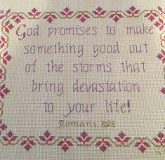 Religious Cross, Gods Promises, Joyful, Cross Stitch, Bullet Journal, How To Make, Promises Of God, Punto De Cruz, Crossstitch