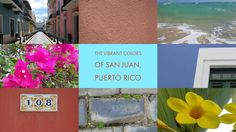 San Juan, Puerto Rico is a feast for the senses. These photos are unfiltered. We had an amazing adventure in Puerto Rico!