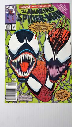 With a standalone Venom movie in development, there's never been a better time to own Marvel Venom comics. This comic price guide by Sell My Comic Books will help you figure out what you have. Get a FREE appraisal of your comic books! Venom Comics, Marvel Venom, Dc Comics, Univers Marvel, Amazing Spiderman, Marvel Comic Books, Comic Books Art, Comic Art, Book Art