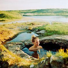 Heitur Pottur/ Natural Hot Pot in Iceland