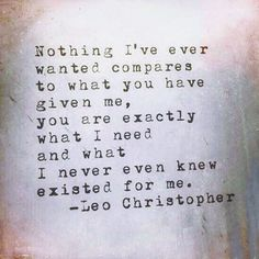 I love you Words Quotes, Wise Words, Me Quotes, Sayings, Pretty Quotes, Amazing Quotes, Love You The Most, Give It To Me, Leo Christopher
