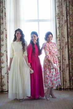 Modest apparel, modest bridesmaid dresses, ruffles, lace, polka dot, chevron, paisley, tulle, chiffon, and more! www.daintyjewells.com