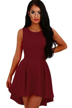 b4d424ad41b51 37 Best Skater Dresses images in 2017 | Sexy dresses, Blouse dress ...