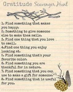 Ways to Teach Gratitude to Children gratitude scavenger hunt, great for promoting a growth mindset.gratitude scavenger hunt, great for promoting a growth mindset. Foto Fun, Mantra, Thinking Day, Activity Days, Family Activities, Summer Activities, Therapy Activities, Health Activities, Nature Activities