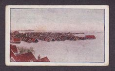 Watersnood 1916 luchtfoto