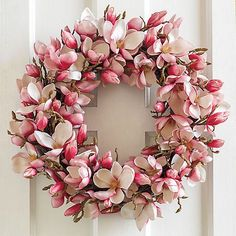 Japanese Magnolia Wreath | Gump's