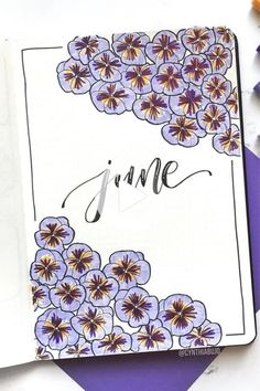 Check out the best purple themed bullet journal spreads and layout ideas for inspiration! Monthly Bullet Journal Layout, Bullet Journal Notebook, Bullet Journal Ideas Pages, Bullet Journal Inspo, Bullet Journal Spread, Bullet Journals, Birthday Bullet Journal, Birthday Tracker, Purple Themes