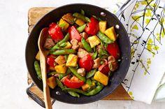 Sesame-Pineapple Chicken Stir-Fry recipe