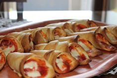 Coni di pizza con pasta brisè