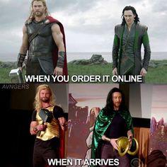Thor and Loki Marvel. Thor and Loki , Marvel. Thor and Loki , Avengers Humor, Marvel Jokes, Funny Marvel Memes, Loki Meme, Loki Thor, Loki Laufeyson, Thor Jokes, Funny Superhero Memes, Loki Funny
