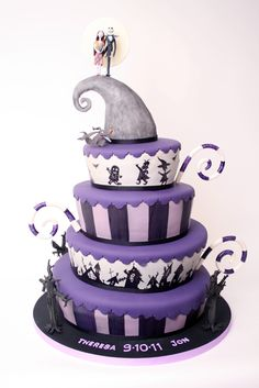 The Nightmare Before Christmas cake by Charm City Cakes
