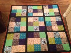 Sudoku quilt for Kayla.