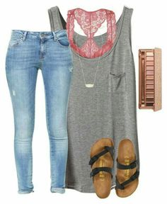 Cute and casual. Love all of it!