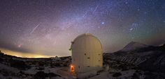 Observatorio astronómico en Tenerife