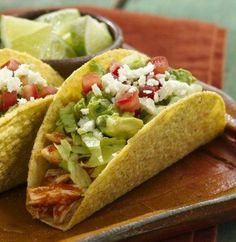 Easy Chipotle Chicken Tacos