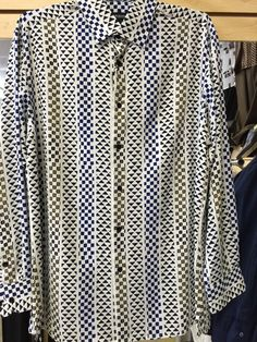 BIG MENS 10 LINE SPORT 3XLT DRESS//CASUAL BEIGE//KHAKI MICRO BUTTON SHIRT NWT