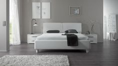 Bett HASENA DELUXE Oasi Monte Riposo Bettgestell, Doppelbett - Wunderschöne Schlafzimmermöbel