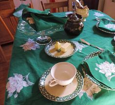 The Victorian Tailor: Being Green