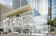 太平洋中心申增三层高商场 拆圆拱形入口添31万平方呎空间