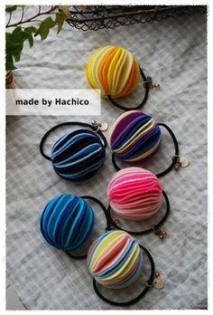 フェルトで簡単!ポンポンゴムの作り方|フェルト|編み物・手芸・ソーイング|ハンドメイドカテゴリ|アトリエ