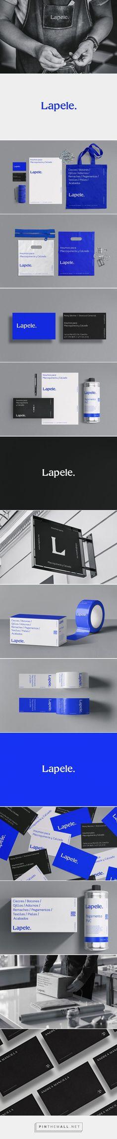 Lapele on Behance - created on Brand Identity Design, Graphic Design Branding, Brochure Design, Logo Branding, Logos, Logo Design, Coffee Branding, Corporate Identity, Corporate Design