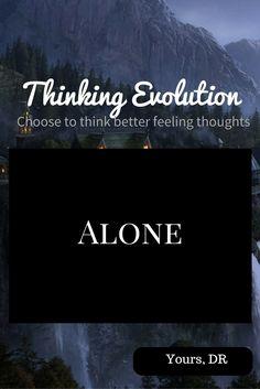 Alone – Thinking Evolution