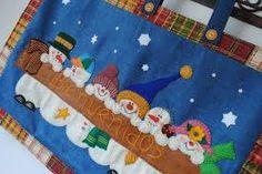 Resultado de imagen para moldes cenefa navideña patchwork