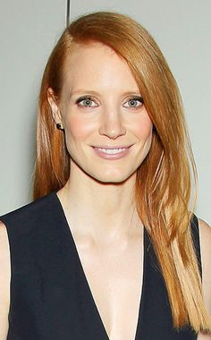 Jessica Chastain - hair color