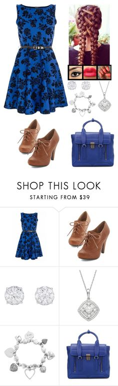 """""""Train Ride - 4th Year"""" by freak-show101 ❤ liked on Polyvore featuring Quiz, Lord & Taylor, ChloBo and 3.1 Phillip Lim"""