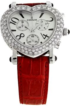 I've been lusting after this watch for 8 years! Corum Diamond Heart Chronograph Watch