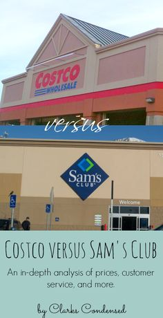 Costco versus Sam's Club - this article provides an in-depth analysis of prices, customer service, and more of these two big box stores